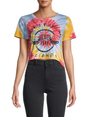 Prince Peter Collections Friends Tie-Dye Cropped T-Shirt