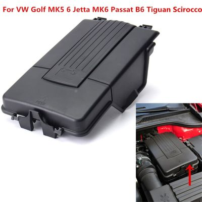 New Battery Cover Top Lid Tray Fits For VW Golf MK5 6 Jetta MK6 Passat B6 Tiguan Scirocco Plastic 1K0 915 443 A