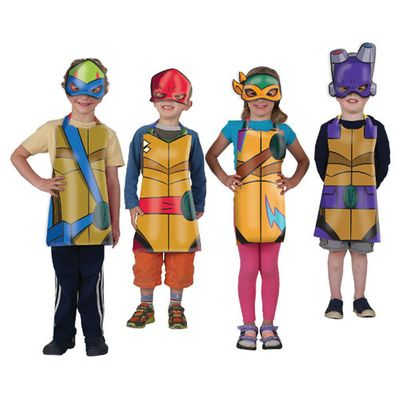 Rise of the Teenage Mutant Ninja Turtles Party Wearables Kit (16pc)