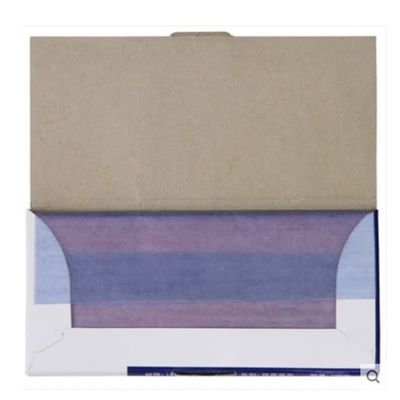 100pcs/box  9370 48K 8.5cmX18.5cm Blue Carbon Stencil Transfer Paper Double Sided Hand Pro Copier Tracing Hectograph Repro