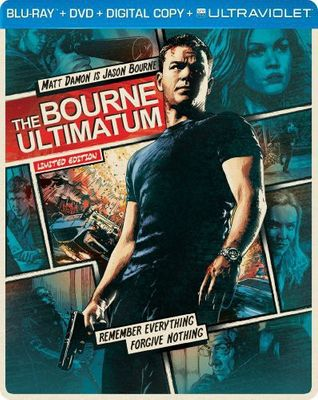 The Bourne Ultimatum (Blu-ray + DVD + Digital HD) (Limited Edition Steelbook Packaging) (Widescreen)