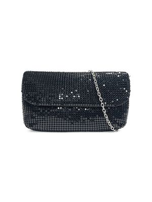 Badgley Mischka Chainmail Convertible Clutch
