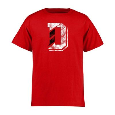 Davidson Wildcats Youth Classic Primary T-Shirt - Red