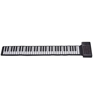 Multifunction Portable Electric 61 Keys Hand Roll Up Piano