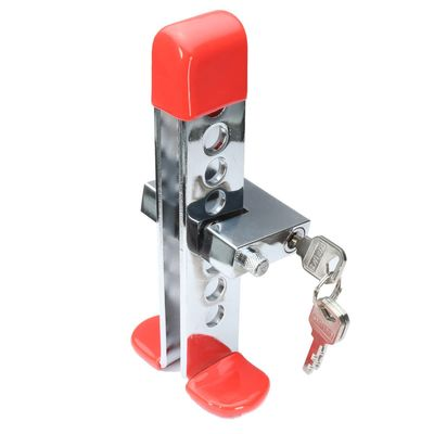 Universal Car Steel Anti-theft Brake Clutch Throttle Lever Security Lock