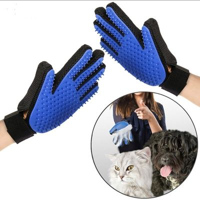 Cat Gloves Pet Glove Cat Grooming Pet Dog Hair Deshedding Cat Brush Comb Glove For Pet Dog Cleaning Massage Cat Glove For Animal