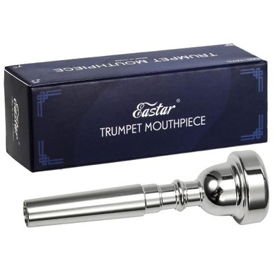 2/3Pcs Pro Silver Plated Bb Trumpet Mouthpiece 3C 5C 7C Size Copper Musical Brass Instruments Trumpet Accessories New Quality