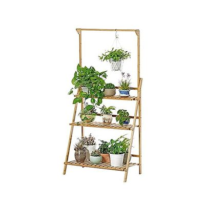 Multifunctional Home Multi-layered Wooden Potted Plant Rack