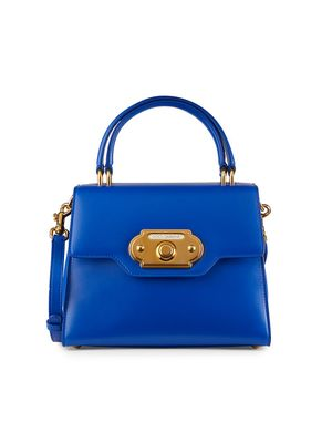 Dolce & Gabbana Welcome Leather Top Handle Bag