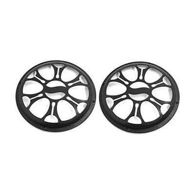 Adeeing  23 x 22 x 4mm 2pcs Universal Car Plastic Grill Cover Fits 8 Inch Speaker Subwoofer R20
