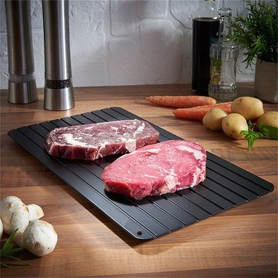 Kitchen Thaw Meat Frozen Food Safety Tool Fast Defrosting Tray Chopping Board Quick Thawing Plate Kitchen Tool