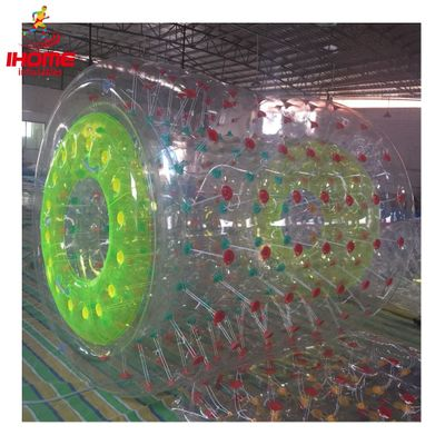 IHOME PVC inflatable water roller inflatable walking roller ball inflatable water roller ball new arrival water walking ball