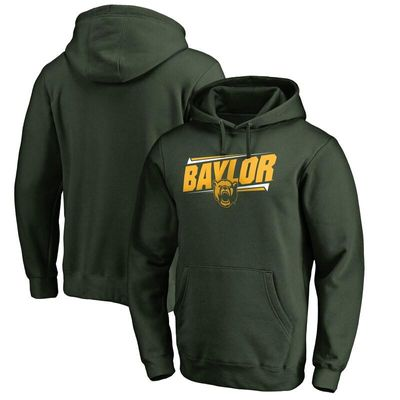 Baylor Bears Double Bar Pullover Hoodie - Green