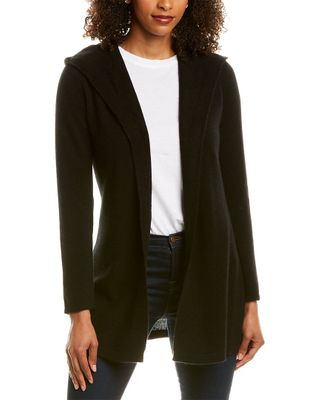 Hannah Rose Hooded Cashmere Cardigan