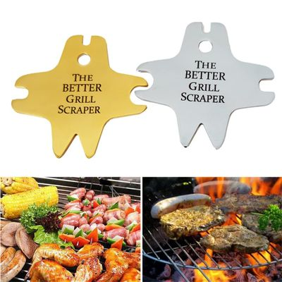 The Better Grill Scraper Barbecue Cleaning Tool Stainless Steel Cleaning Blade bbq tools barbeque tools NEW Dropshipping