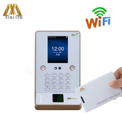 Biometric Face & Fingerprint Time Attendance And RFID 125Khz Card Biometric Employee Tracking System ZK UF600
