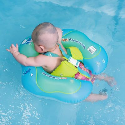 Baby Swimming Float Ring Inflatable Infant Floating Kids Swim Pool Accessories Circle Bathing Inflatable Double Raft Rings Toy