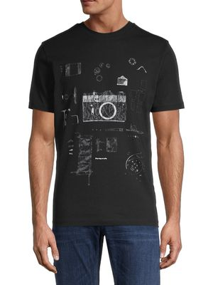 Boss Hugo Boss Camera-Graphic Cotton Tee