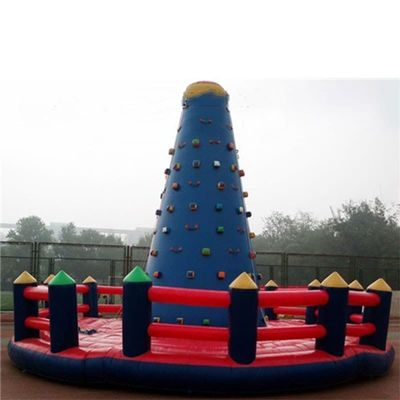 Climbing wall PVC commercial use inflatable clmbing sports for sale