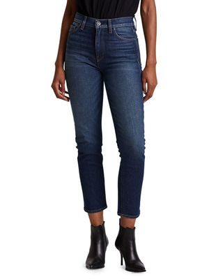 Hudson Holly High-Rise Straight Jeans