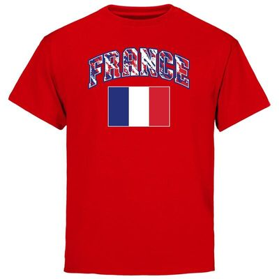 France Youth True Colors T-Shirt - Red