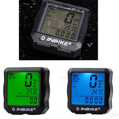 Bicycle new Waterproof Backlight Cycling Bicycle Bike Computer Odometer Speedometer Easy and quick installation accessorieA30715