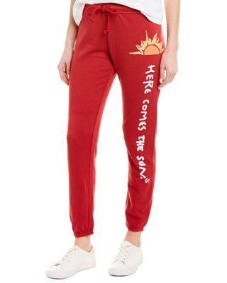 Betsey Johnson Here Comes The Sun Sweatpant
