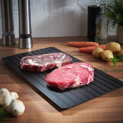 Fast Defrosting Tray Thaw Frozen Food Meat Fruit Quick Thawing Plate Kitchen Gadget Tool