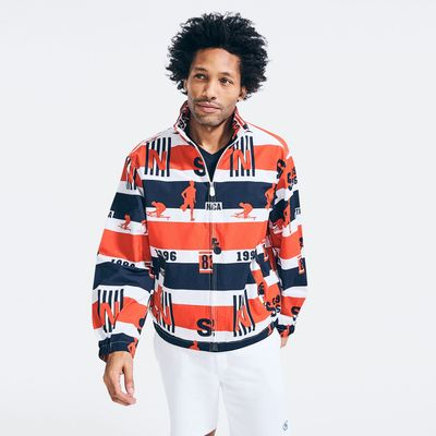 Nautica All-over Print Jacket