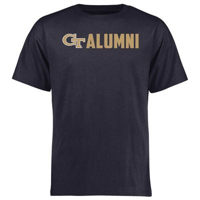 Georgia Tech Yellow Jackets Wordmark Alumni T-Shirt - Navy