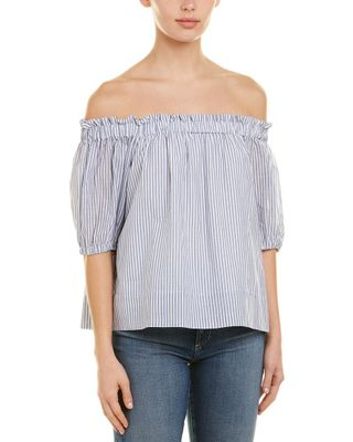 1.STATE Off-The-Shoulder Blouse