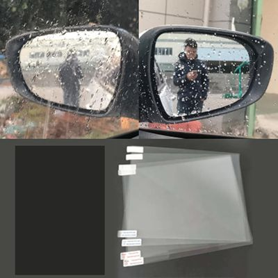 Car Anti Water Mist Film Anti Fog Rainproof Rearview Mirror Protective Universal designed Rearview Mirror Protective Film #445