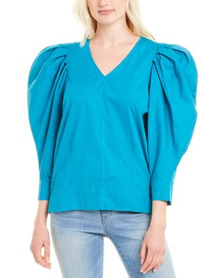 Beulah Pleated Top