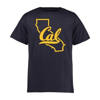 Cal Bears Youth Tradition State T-Shirt - Navy
