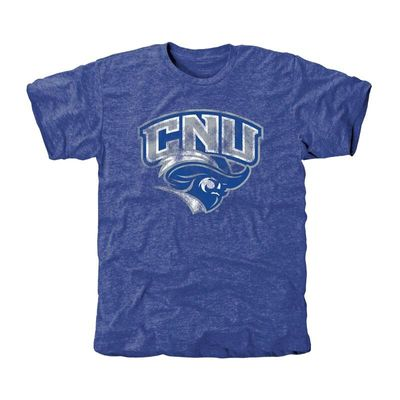 Christopher Newport Captains Classic Primary Tri-Blend T-Shirt - Royal Blue