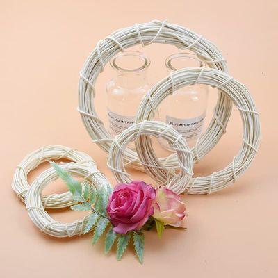Bridal wreath Wedding decorative flowers new Year christmas decorations for home Wall pendant scrapbook cheap artificial plants