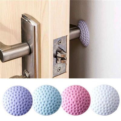 1Pc Thickening Mute Door Fenders Rubber Fender The Handle Door Lock Protective Pad Door Stopper Wall Stick Anti-collision Pad