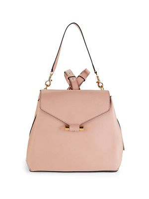 Stuart Weitzman Small Brielle Leather Backpack