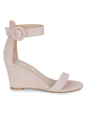 Saks Fifth Avenue Daisie Suede Wedge Sandals