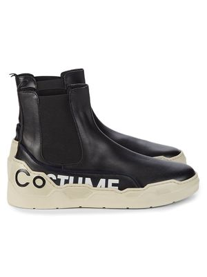 Costume National Contrast High-Top Sneakers