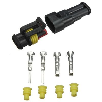 Electrical Wire Connector Plug Kits Motorcycle Waterproof Terminal Connector For Auto Bike Car Truck Plug Connector Sets