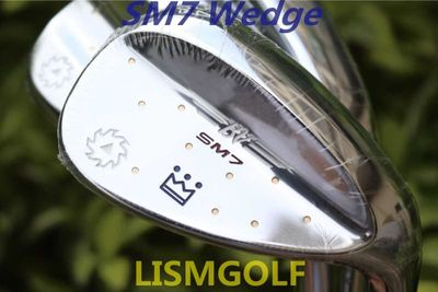 SM7 Wedges  Golf Clubs SM7 Sand Lob Wedge 50/52/54/56/58/60 Degrees Steel Shaft With Mirror Silver Putter Irons