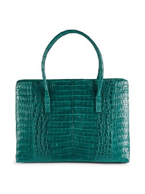 Nancy Gonzalez Large Crocodile Leather Tote