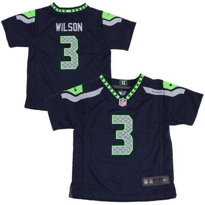Russell Wilson Seattle Seahawks Nike Infant Team Color Game Jersey - College Navy