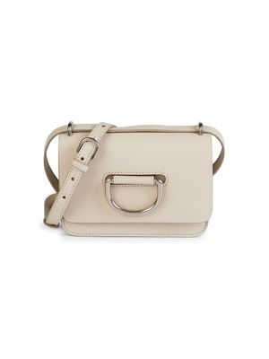 Burberry D-Ring Leather Crossbody Bag