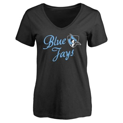 Johns Hopkins Blue Jays Women's Dora T-Shirt - Black