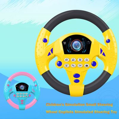 Simulated Steering Toy Children's Music Simulation Small Steering Wheel Copilots Early childhood educational toys juguetes
