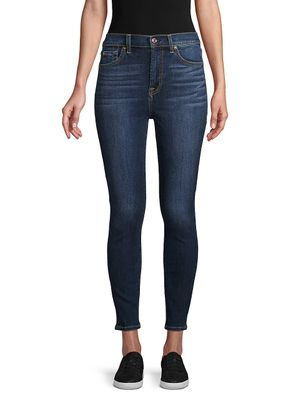 7 For All Mankind Whiskered Ankle Jeans