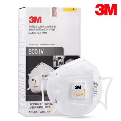 5/10/15/20 PCS 3M 9001V Particle Mask Folding Protection Mask PM2.5 Disposable filter mask Dust Particle Respirator