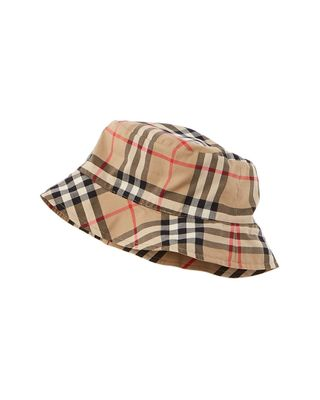 Burberry Reversible Vintage Check Bucket Hat